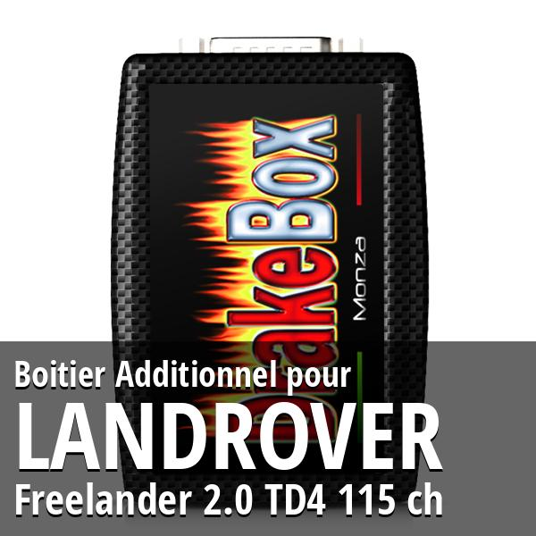 Boitier Additionnel Landrover Freelander 2.0 TD4 115 ch