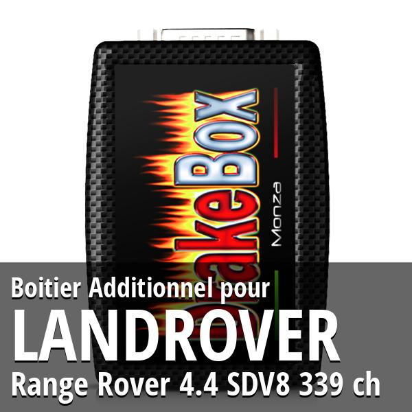 Boitier Additionnel Landrover Range Rover 4.4 SDV8 339 ch