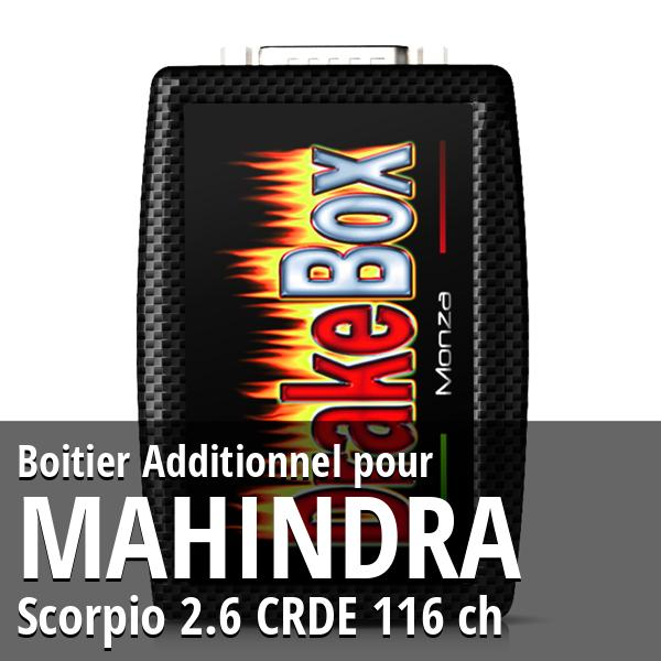 Boitier Additionnel Mahindra Scorpio 2.6 CRDE 116 ch