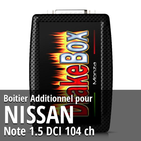 Boitier Additionnel Nissan Note 1.5 DCI 104 ch