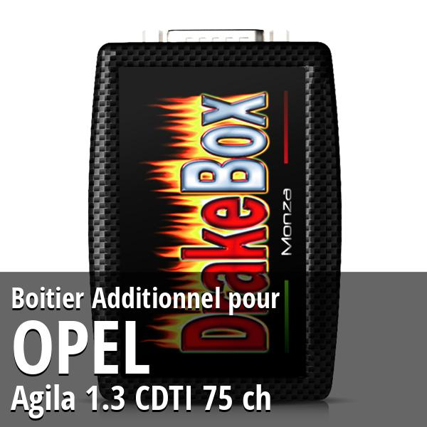 Boitier Additionnel Opel Agila 1.3 CDTI 75 ch