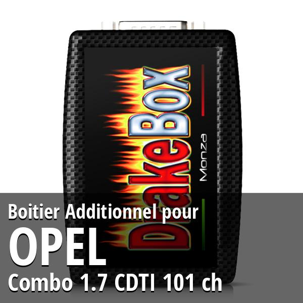 Boitier Additionnel Opel Combo 1.7 CDTI 101 ch
