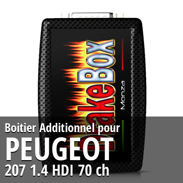 Boitier Additionnel Peugeot 207 1.4 HDI 70 ch