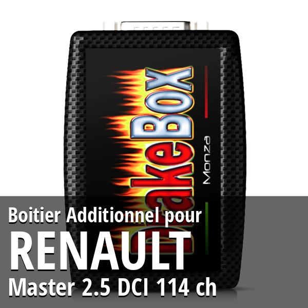Boitier Additionnel Renault Master 2.5 DCI 114 ch
