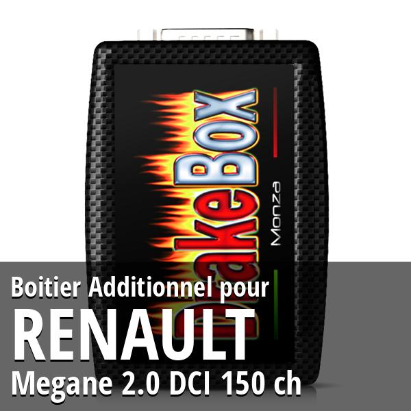 Boitier Additionnel Renault Megane 2.0 DCI 150 ch