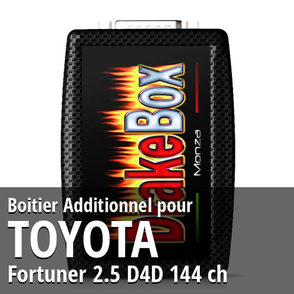 Boitier Additionnel Toyota Fortuner 2.5 D4D 144 ch