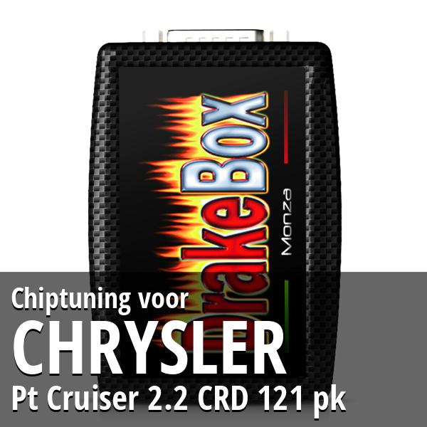 Chiptuning Chrysler Pt Cruiser 2.2 CRD 121 pk