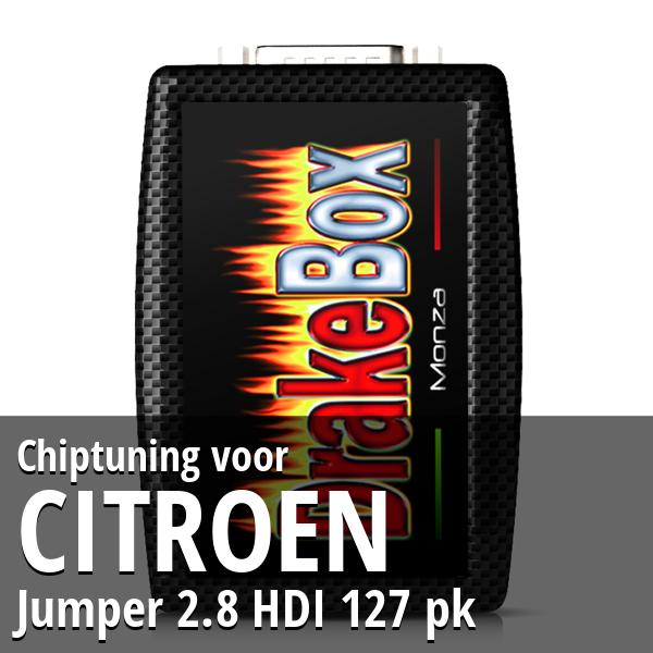 Chiptuning Citroen Jumper 2.8 HDI 127 pk