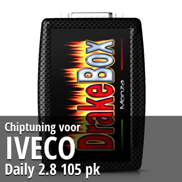 Chiptuning Iveco Daily 2.8 105 pk