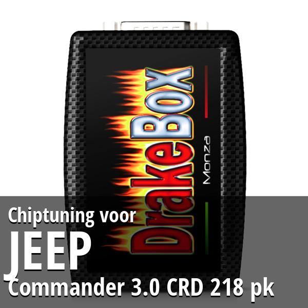 Chiptuning Jeep Commander 3.0 CRD 218 pk