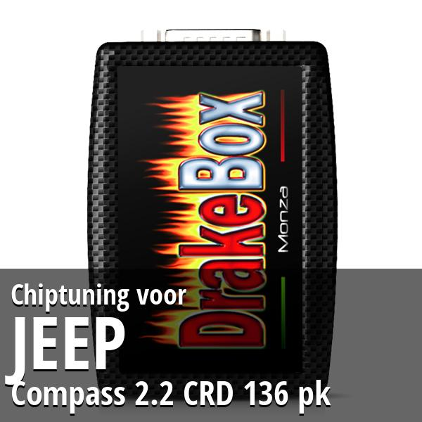 Chiptuning Jeep Compass 2.2 CRD 136 pk