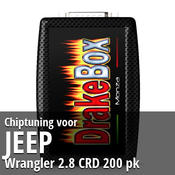 Chiptuning Jeep Wrangler 2.8 CRD 200 pk
