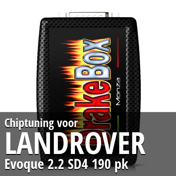 Chiptuning Landrover Evoque 2.2 SD4 190 pk