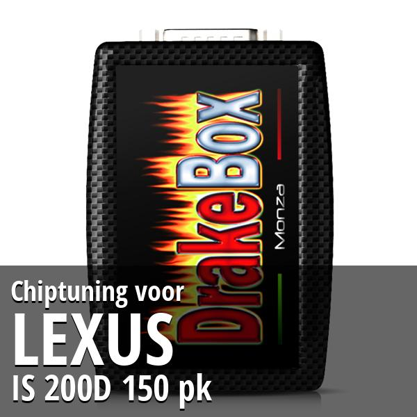 Chiptuning Lexus IS 200D 150 pk