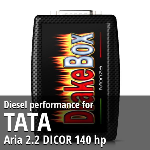 Diesel performance Tata Aria 2.2 DICOR 140 hp