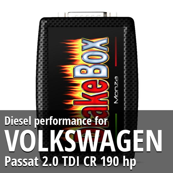 Diesel performance Volkswagen Passat 2.0 TDI CR 190 hp